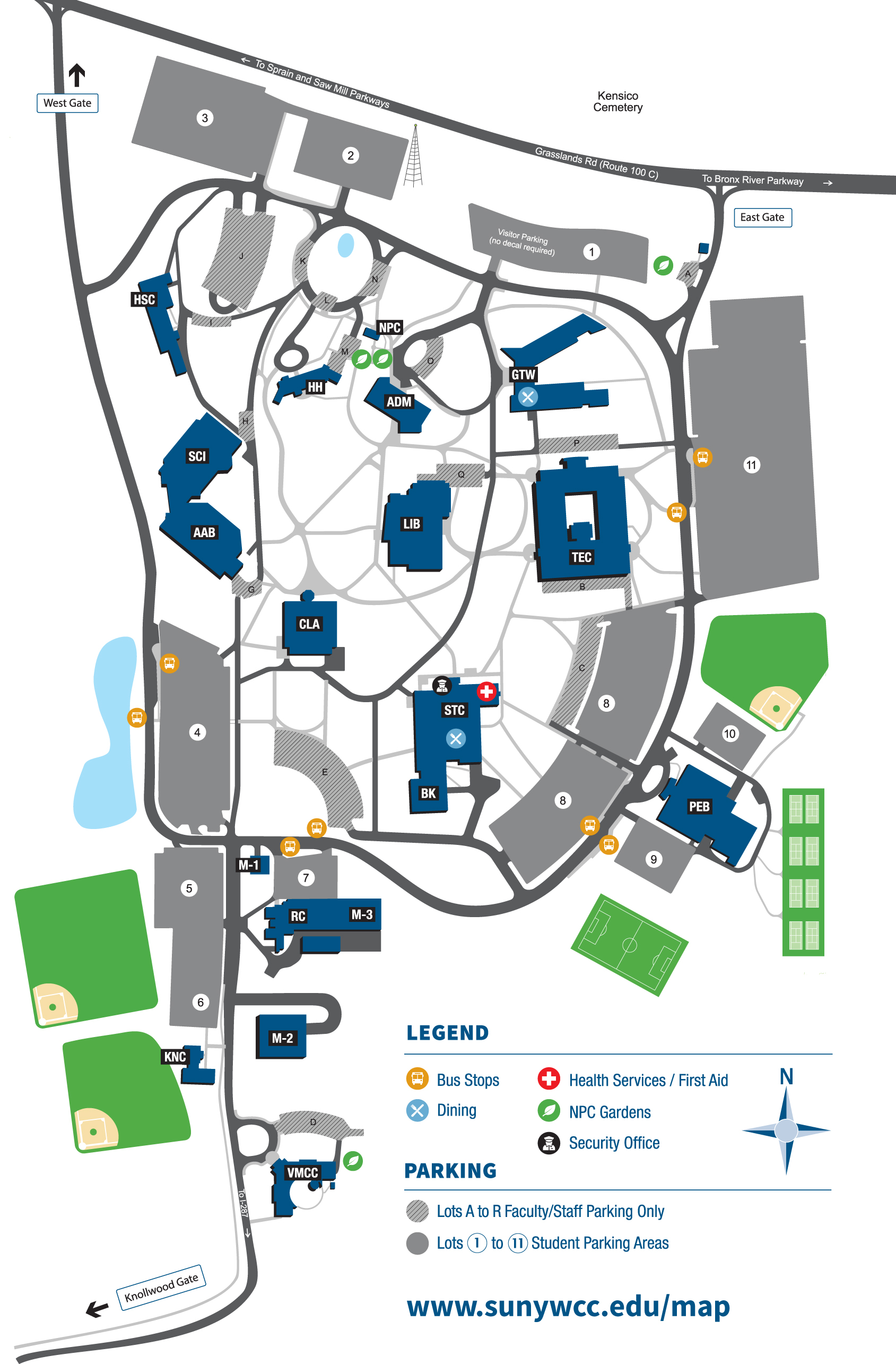 Main Campus map small