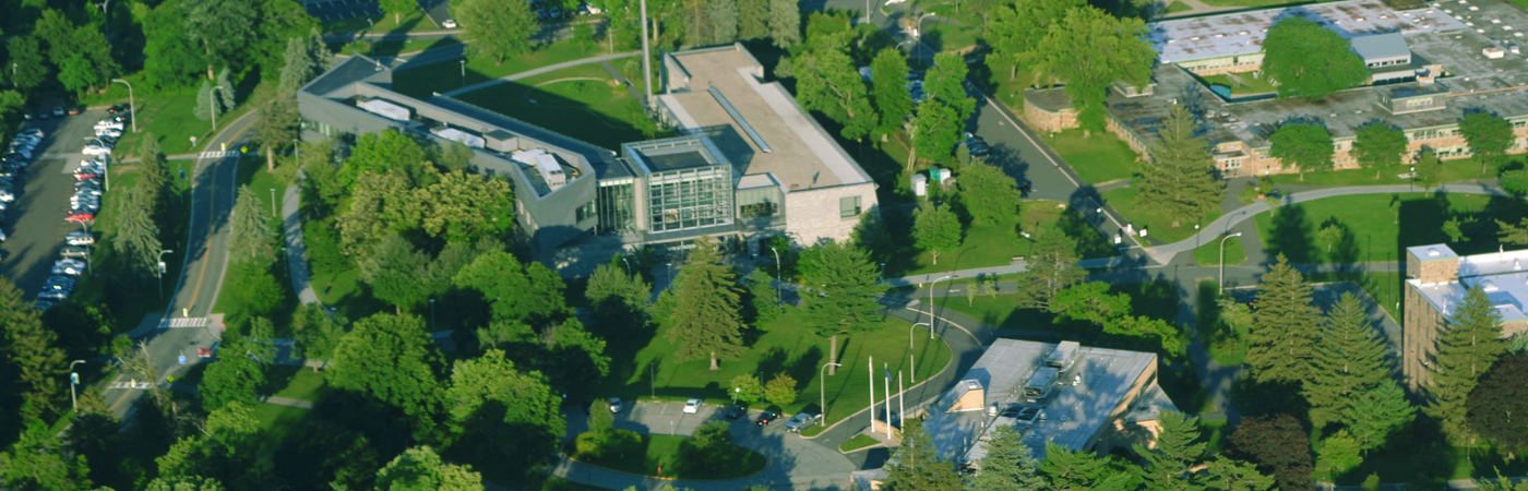 Campus arial view photo