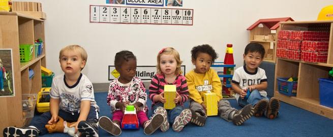 Children at Children's Center