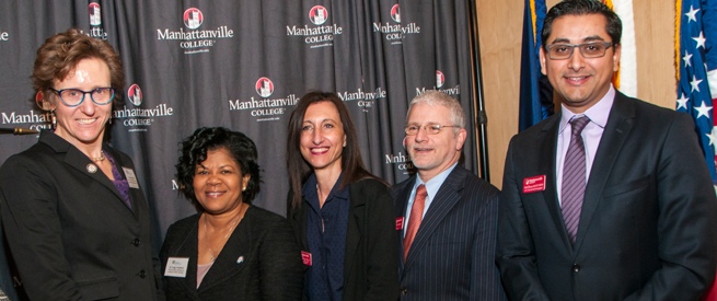 Manhantanville College and Westchester Community College Representatives