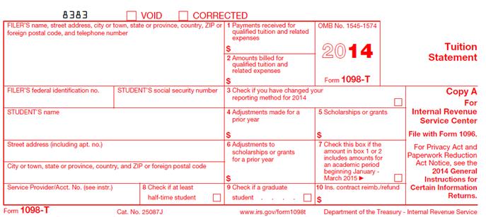 tax credit claim form 2014