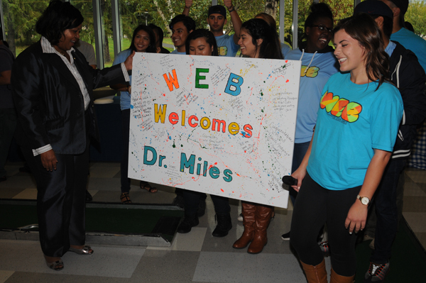 Student Celebration for the Inauguration of Dr. Miles