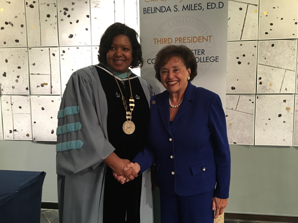 Inauguration of Dr. Belinda S. Miles