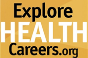 explore health careers logo
