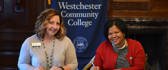 Chamberlain College of Nursing and Westchester Community College Representatives