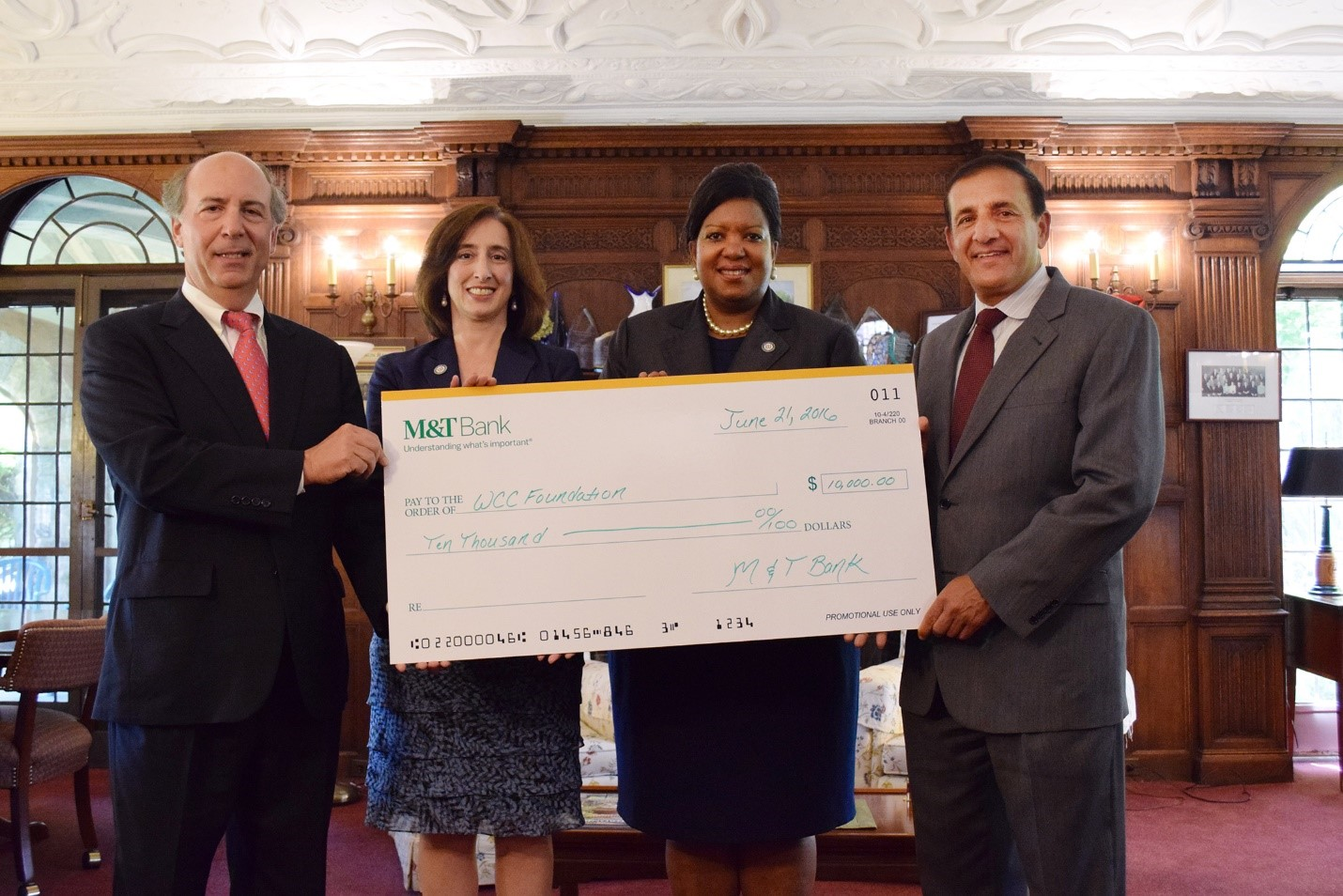 Mt Bank Doubles Its Scholarship Support For Westchester Community