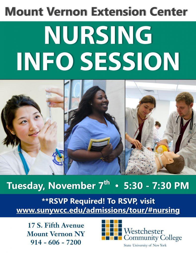 Nursing flyer