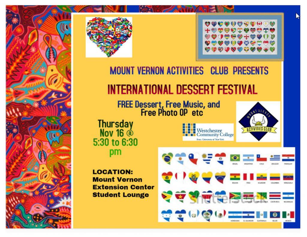 Dessert Event Flyer graphic