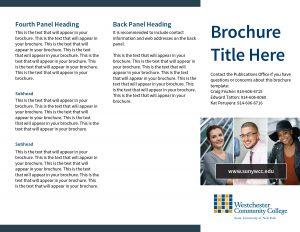 Brochure Example, 3-panel