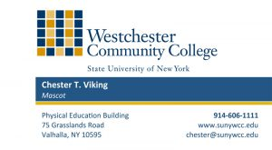 Stationery westchester community college business card sample reheart Choice Image