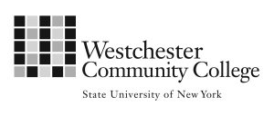 Westchester Community College grayscale logo