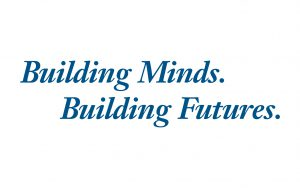 College Slogan: Building Minds. Building Futures.