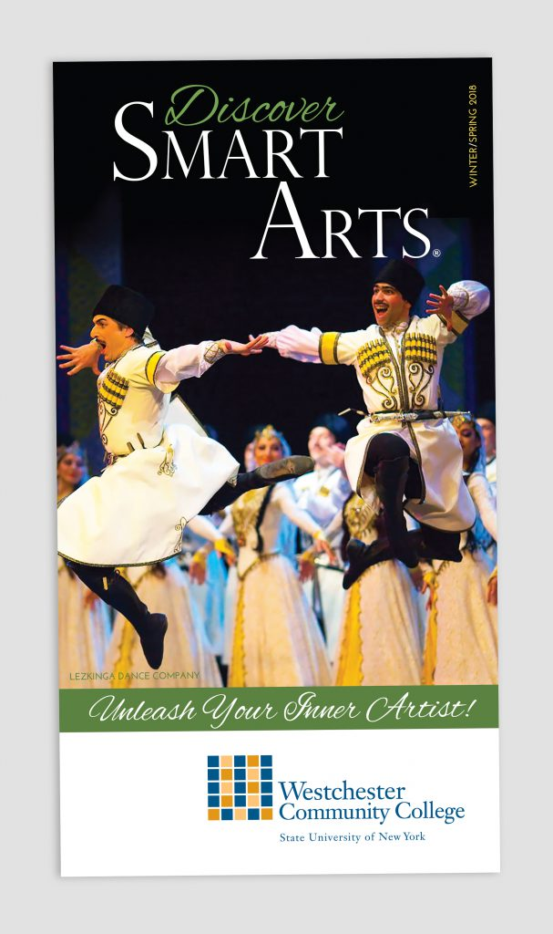Smart Arts Spring 2018 brochure cover