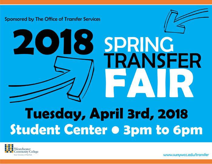 Transfer Fair Flyer SPRING 2018