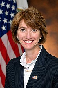 Kristina M. Johnson official portrait