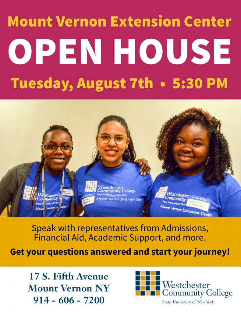 Fall 2018 Open House flyer