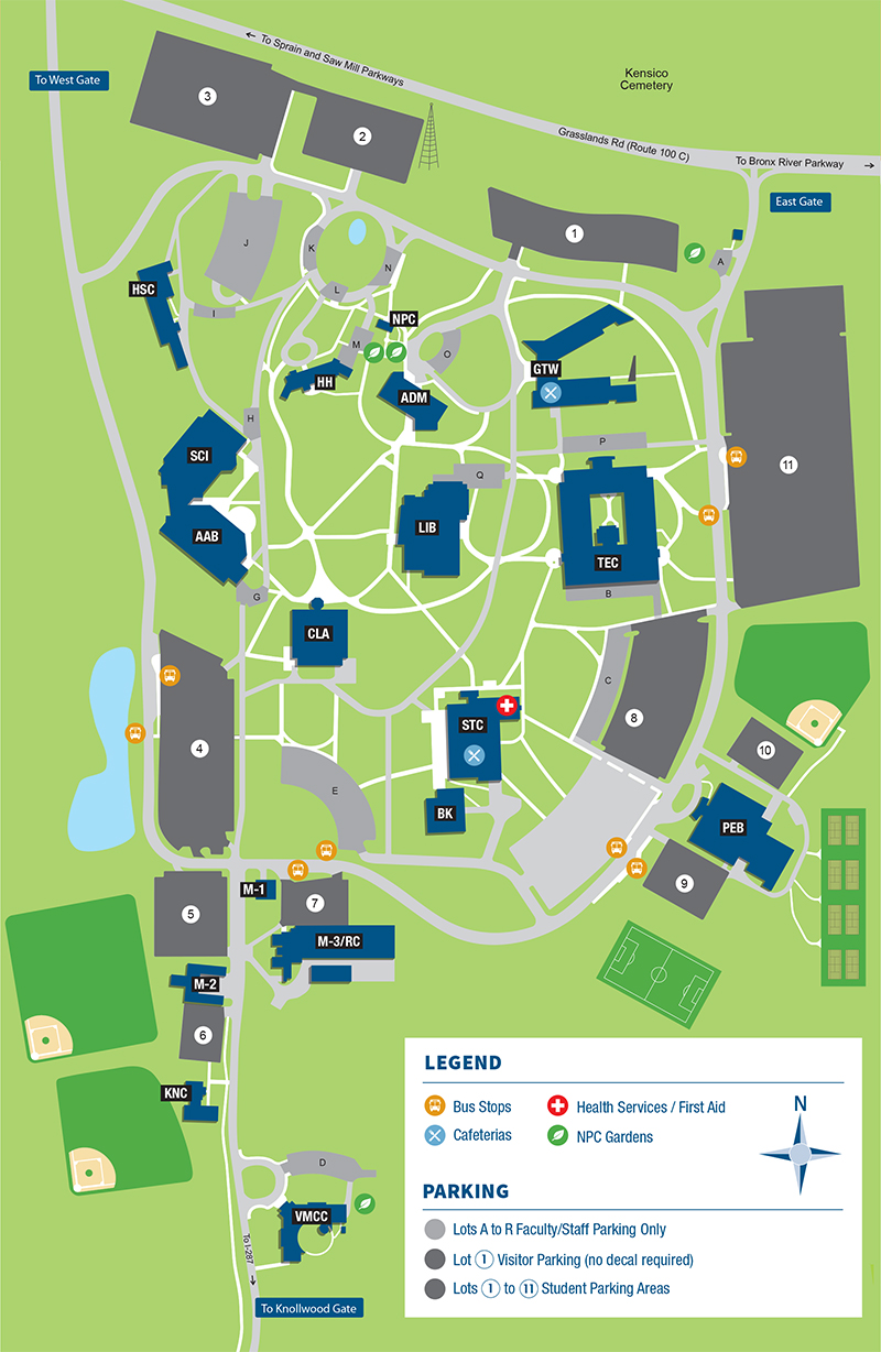 Geneva College Campus Map.Maps Directions Westchester Community College