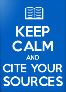 keep calm and cite on