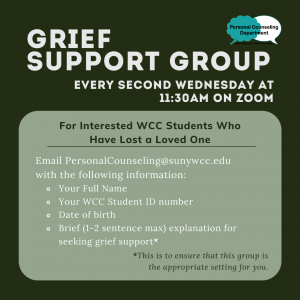 Grief Support Group graphic