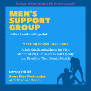 Men's Support Group Graphic